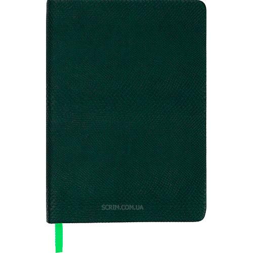 Ежедневники датированные Snake зеленые с логотипом