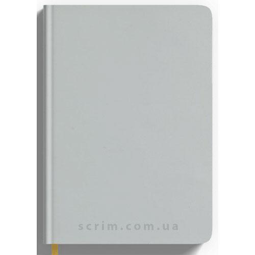 Щоденники Soft-Touch білі з логотипом