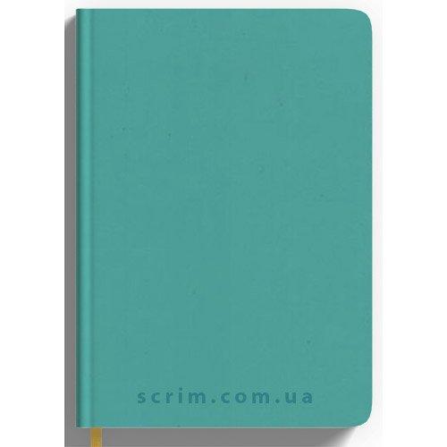 Щоденники Soft-Touch бірюзові з логотипом