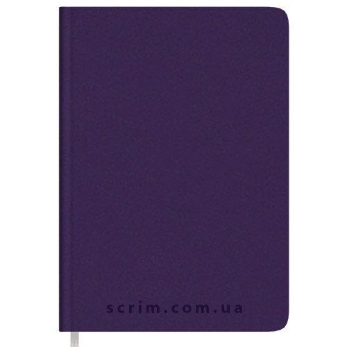 Ежедневники Soft-Touch фиолетовые с логотипом