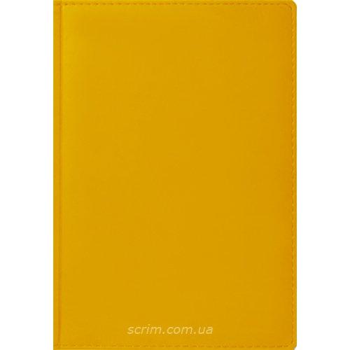 Ежедневники Joan желтые под заказ