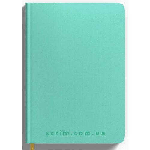 Ежедневники Soft-Touch мятные с логотипом