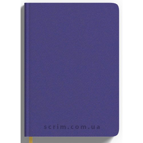 Щоденники Twill фіолетові з логотипом