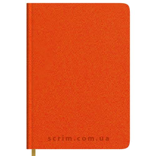 Щоденники Twill помаранчеві з логотипом