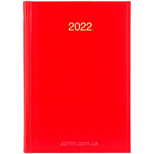 ежедневники датированные ярко-красные brunnen miradur