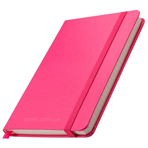 Блокноти рожеві Street з логотипом