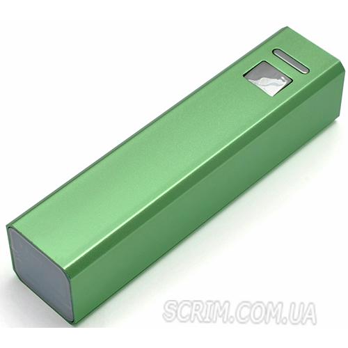 Повербанки зеленые 2600 мАч
