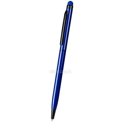 ручки подарочные металлические TW_black, цвет синий