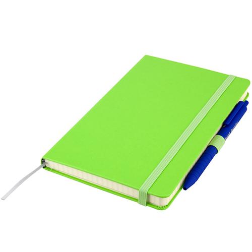 Записные книжки Стандарт А5-, цвет ярко-зеленый, фото 2