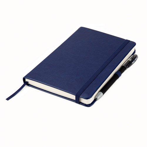 Записные книжки Partner Люкс А5, цвет темно-синий фото 2
