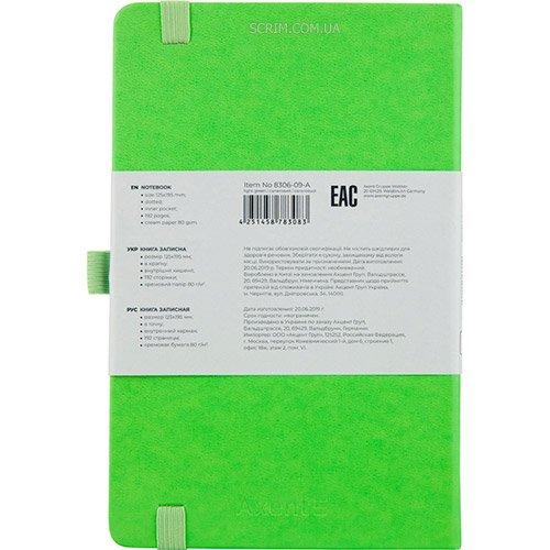 записные книжки PNL, цвет ярко-зеленый фото 2