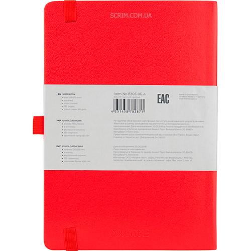 Записные книжки Partner Прима А5, цвет красный, фото 2