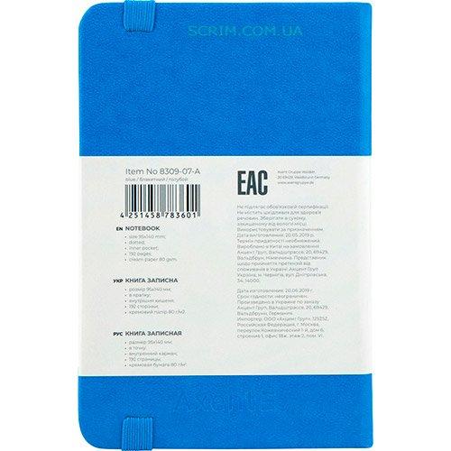 Записные книжки Партнер А6-, цвет голубой фото 2