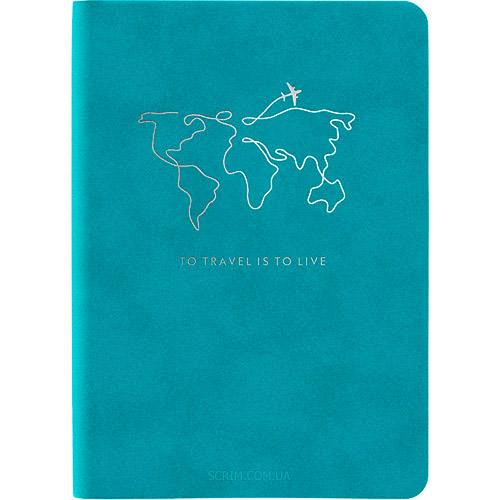 Записные книжки Нуба Софт А5-, цвет бирюзовый фото 2