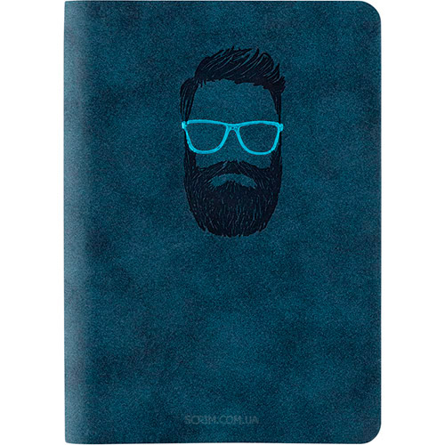 Записники Нуба Софт А6 +, колір синій фото 2