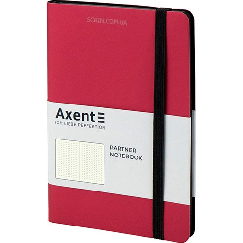 Записные книжки Soft красные А5-