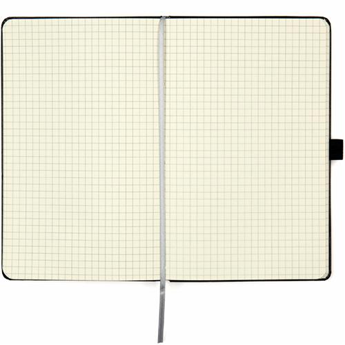 Записные книжки Стандарт А5-, цвет черный, в клетку