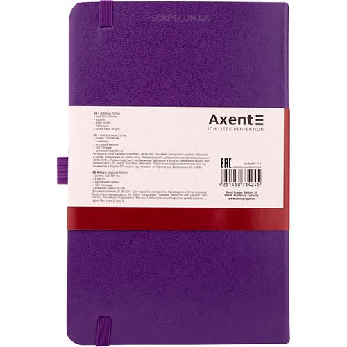 Записные книжки Стандарт А5-, цвет фиолетовый, фото 2