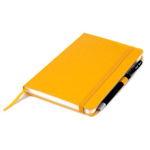 Записные книжки Стандарт А5-, цвет желтый, фото 2