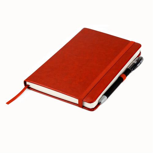 Записные книжки Partner Люкс А5, цвет бордовый, фото 3