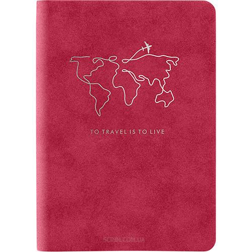 Записные книжки Нуба Софт А5-, цвет бордовый фото 2