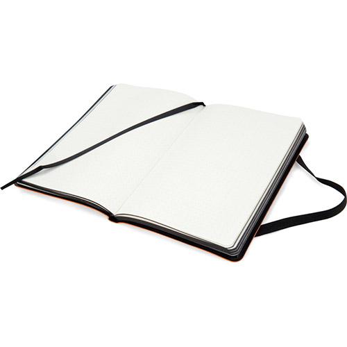 Записные книжки Софт А5-, цвет оранжевый фото 3