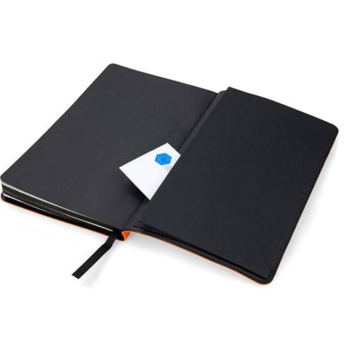 Записные книжки Софт А5-, цвет оранжевый фото 4