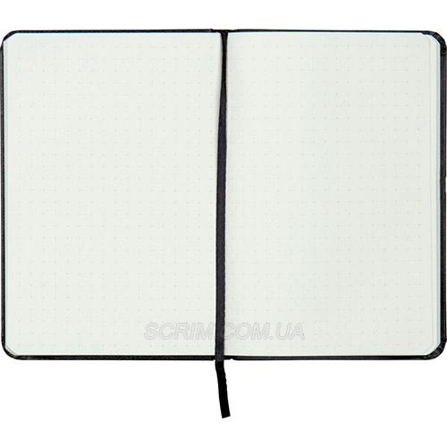 Записные книжки Софт А5-, цвет серебристый в точку