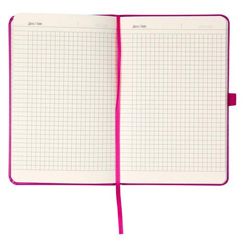 Записные книжки Стандарт А5-, цвет розовый, в клетку