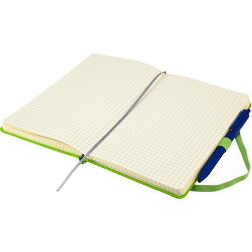 Записные книжки Стандарт А5-, цвет ярко-зеленый, фото 3