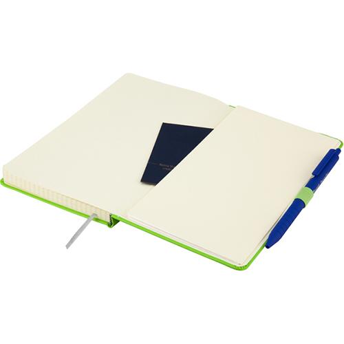 Записные книжки Стандарт А5-, цвет ярко-зеленый, фото 4