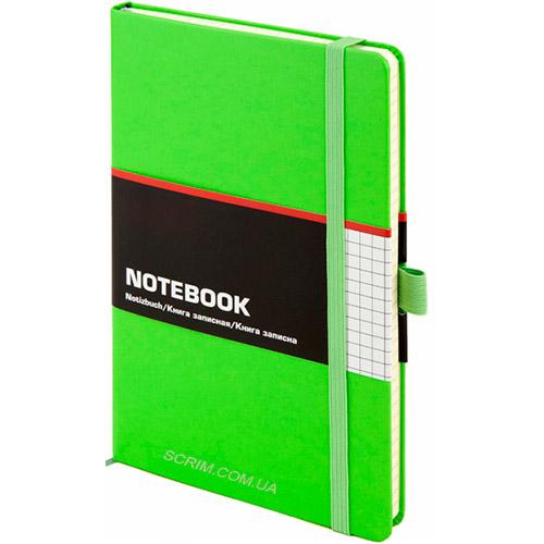 Записные книжки Стандарт А5-, цвет ярко-зеленый