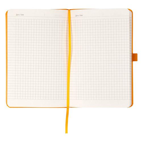 Записники Standart жовті в клітинку
