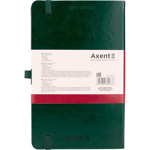 Записные книжки Partner Люкс А5, цвет зеленый, фото 2