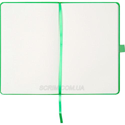 Записники PNL, колір яскраво-зелений, неліновані