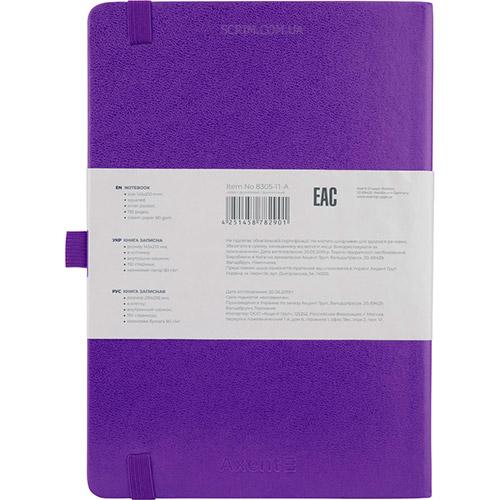 Записные книжки Partner Прима А5, цвет фиолетовый, фото 2