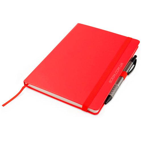 Записные книжки Partner Прима А5, цвет красный, фото 5