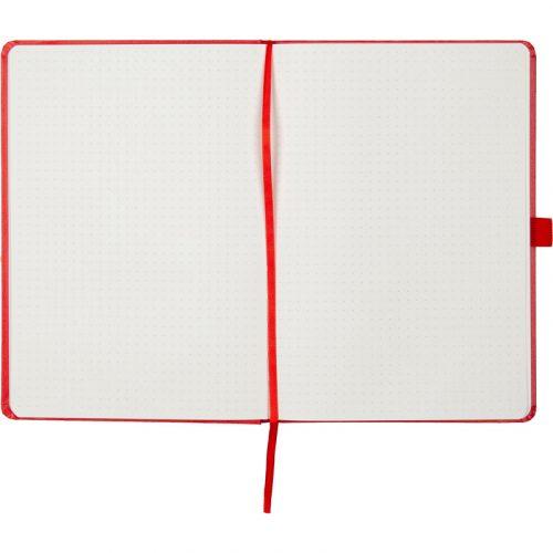 Записные книжки Partner Прима А5, цвет красный, в точку