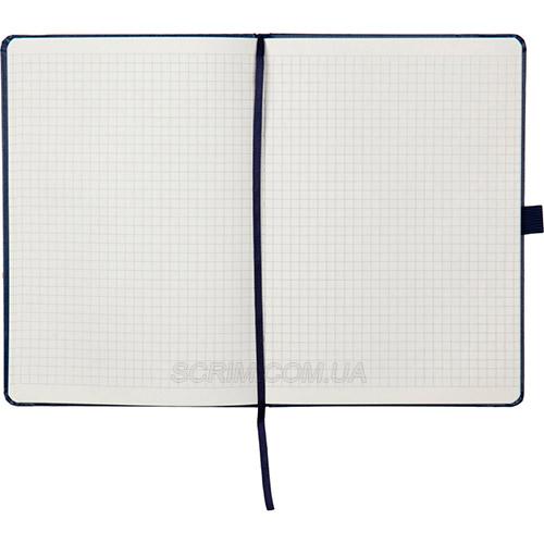 Записные книжки Partner Прима А5, цвет синий, в клетку