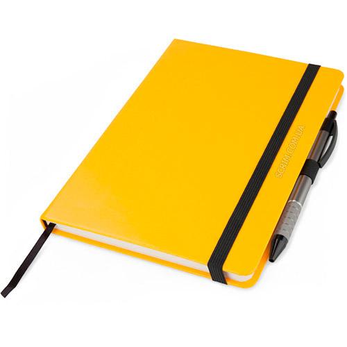 Записные книжки Partner Прима А5, цвет желтый, фото 5
