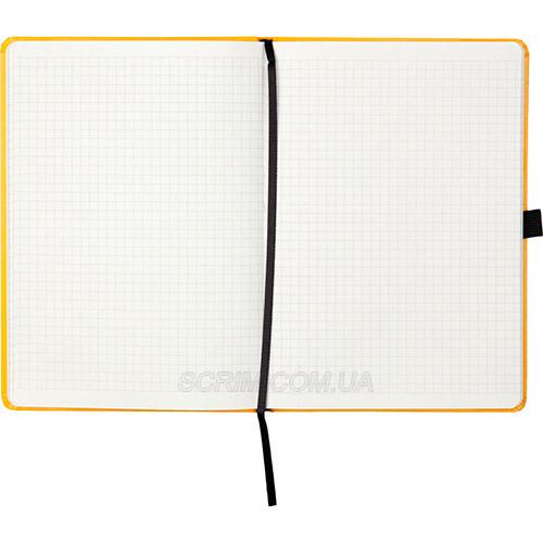 Записные книжки Partner Прима А5, цвет желтый, в клетку