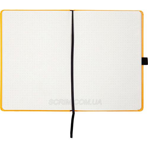 Записные книжки Partner Прима А5, цвет желтый, в точку