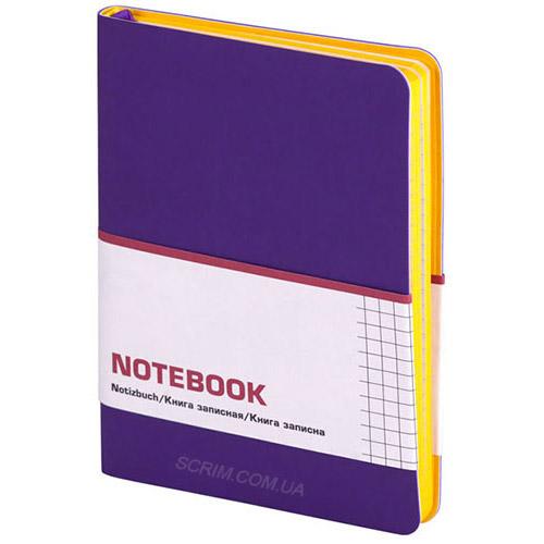 Записные книжки Софт А6-, цвет фиолетовый