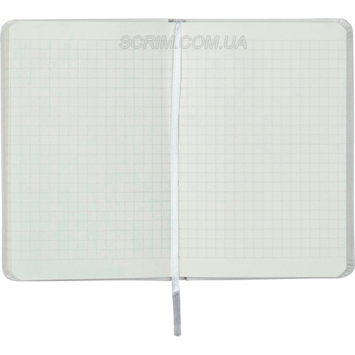 Записники Партнер А6-, колір білий, в клітинку