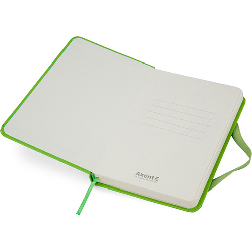 Записные книжки Партнер А6-, цвет ярко-зеленый фото 3
